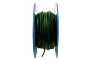 Connect 30033 Green Thin Wall Single Core Cable 28/0.30 50m